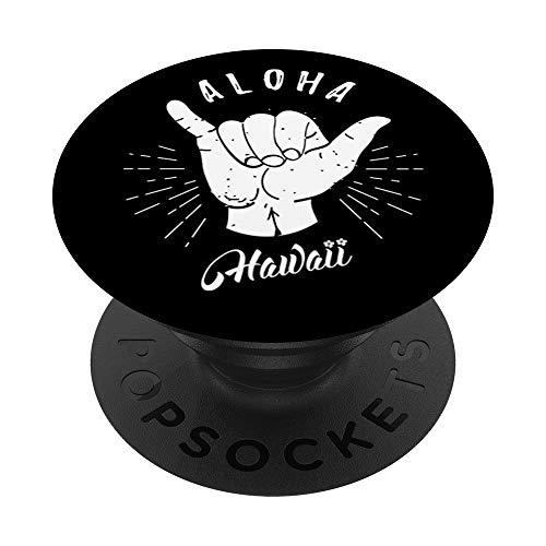 Aloha Hawaii Hawaii Beach Summer Vacation Gifts Souvenir PopSockets PopGrip Intercambiable
