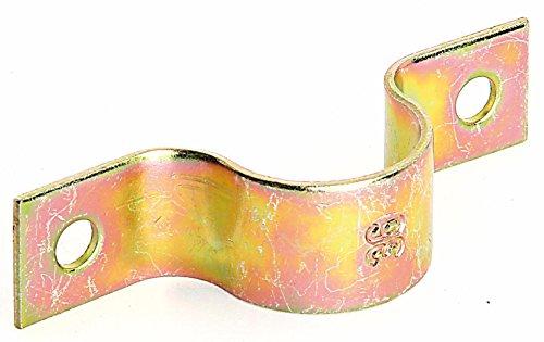 GAH-Alberts 216634 Rohrschelle, galvanisch gelb verzinkt, für Rohr: Ø25 mm
