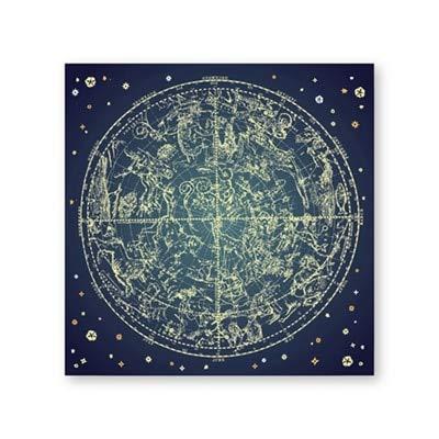 Northern Stars druckt Zodiac Constellation Poster Wandkunst Leinwand Malerei Bild für Wohnzimmer Home Wall Decor