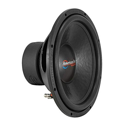 15' Subwoofer 1000W Single 4 Ohm Bass Pro Car Audio American Bass DX-15