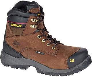 كاتربيلار - حذاء سلامة أحذية المشي، حذاء عمل كات سبيرو ستيل تو S3 مقاوم للماء HRO SRC ، بني - مقاس 41 EU عريض