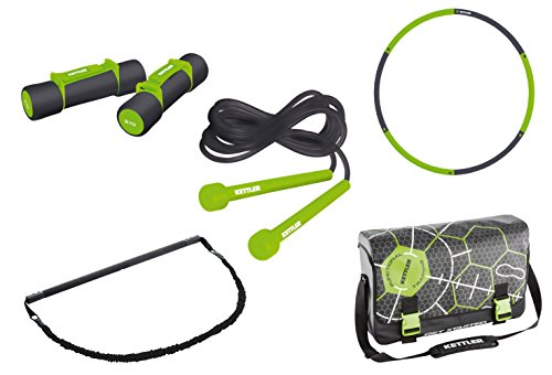 Kettler, Set di Accessori per Allenamento Functional Training Body & Shape, Nero (Schwarz/Grün), Standard