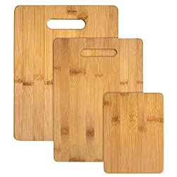 Totally Bamboo 3 Piece Cutting Board Set from Amazon