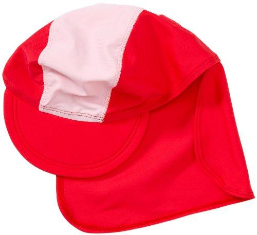 Playshoes Unisex - UV-Schutz nach Standard 801 und Oeko-Tex Standard 100 Bademütze Basic rot/rosa 460065, Gr. 51 (cm), Rosa (900 original)