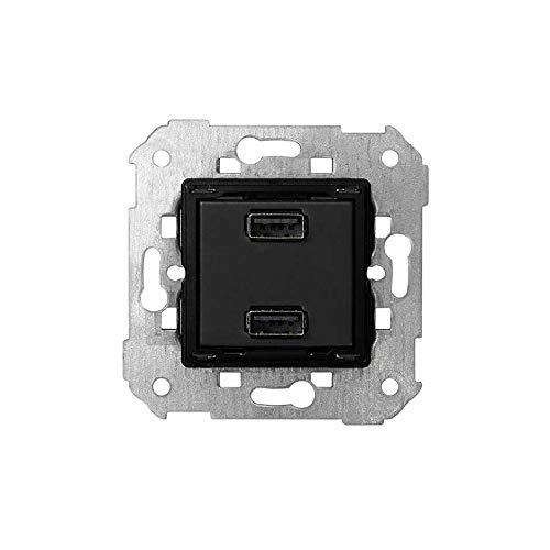 Cargador USB doble 5V/DC 2.1A tipo A hembra SIMON 7511096-039