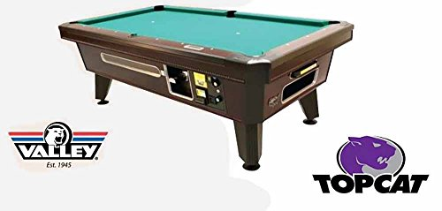 Great Deal! Valley Coin Op Top Cat Pool Table - 93