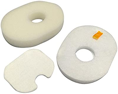 2 Packs Part #: XFFV300 Filter for Shark Rocket Foam & Felt Filter for Rocket HV300, HV301, HV302, HV30 Rocket Deluxe Hv310