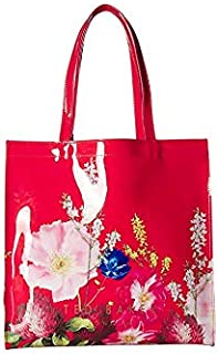 Ted Baker Large Icon Bag for Women-Red