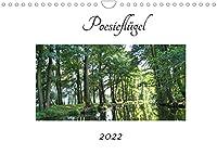 Poesiefluegel 2022 (Wandkalender 2022 DIN A4 quer): Monatskalender mit Poesie (Monatskalender, 14 Seiten )