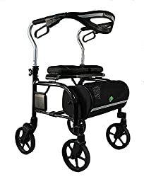 Evolution Trillium Lightweight Tall Rollator Walker