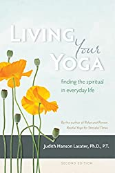 living your yoga book cover