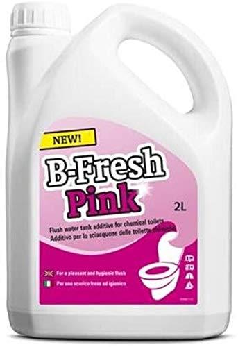 1 Pezzo - Liquido Fluido B-Fresh Pink Thetford da 2 Litri - ELIMINA Cattivi ODORI - Ideale per WC Portatili E Camper