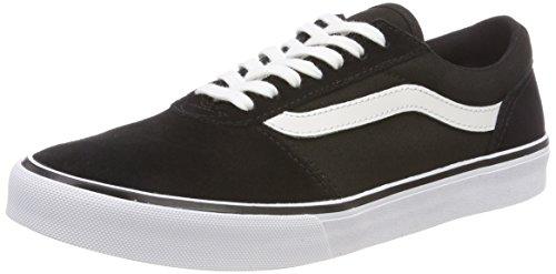 Vans Damen Maddie Sneaker, Schwarz ((Suede/Canvas) Black/White Iju), 38 EU