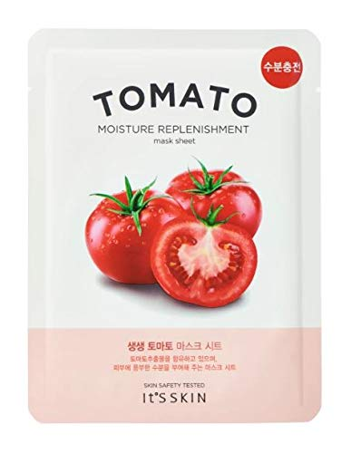 It's Skin The Fresh Mask Sheet Tomato Tomate Gesichtsmaske Korean Kosmetik 1 Stück