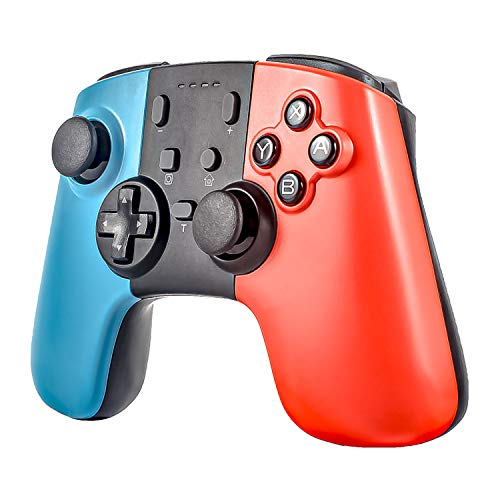 Sefitopher Wireless Controller for Nintendo Switch Console and PC Windows, Wireless Switch Pro Remote Joypad Gamepad,Supports Gyro Axis, Turbo and Dual Vibration [Update Version]