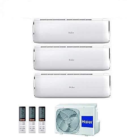 Condizionatore Climatizzatore Haier Dawn R-32 Trial Split Inverter 9000+9000+12000 Con 3U68S2SC1FA WI-FI Ready