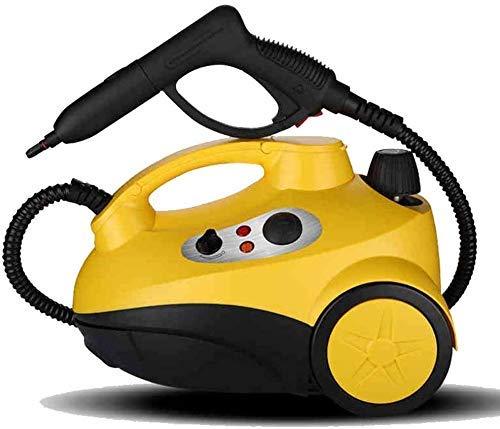 1yess Mobile + aspiradora de Mano con 16 Accesorios: Limpiador de Vapor Libre de Productos químicos Natural para Pisos, mostradores, electrodomésticos, Ventanas, etc