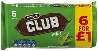 McVities Club Mint 6pk (Pack of 3)