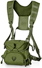 Binocular Harness Chest Pack for Men and Women - Our Bino Harness and case is Great for Hunting, Hiking, and Shooting - Bino Straps Secure Your Binoculars - Holds rangefinders, Phones, Bullets, ect