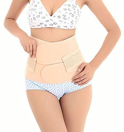 Healthcom Waist Slimming Belt Shaper Wrapper Band Abdomen Abdominal Binder Women Postnatal Pregnancy Belt-Support After Birth Belly Band Postpartum Recoery Support Girdle Belt Belly(Size:M)