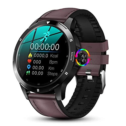 Sport Smart Watch per gli uomini, braccialetto sportivo intelligente, Bluetooth Fitness Tracker con cardiofrequenzimetro/pressione della temperatura corporea/monitor/Sleep Tracker/IP67 impermeabile