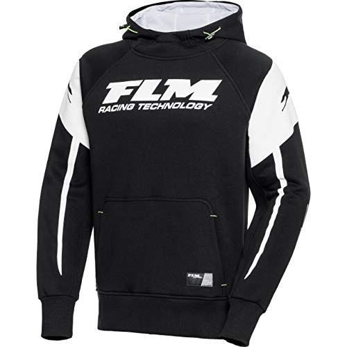 FLM Hoodie Sweatshirt Sweatjacke Kapuzenpullover Hoodie 3.0 schwarz XXL, Herren, Casual/Fashion, Ganzjährig