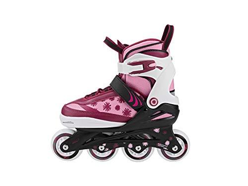 Crivit Kinder Inliner Inlineskates Softboot Skates verstellbar Inliner Rollschuhe Gr. (29.33)