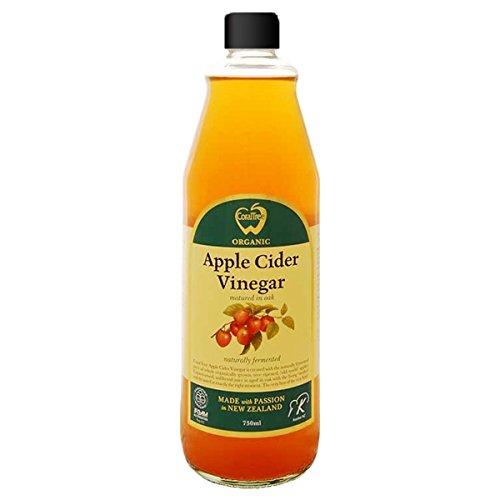 アップルサイダービネガー 純りんご酢 750ml ニュージーランド産オーガニック 有機JAS認定 オーク樽熟成