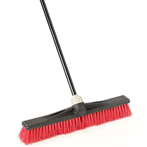 "O-Cedar Professional 24"" Rough-Surface Push Broom"
