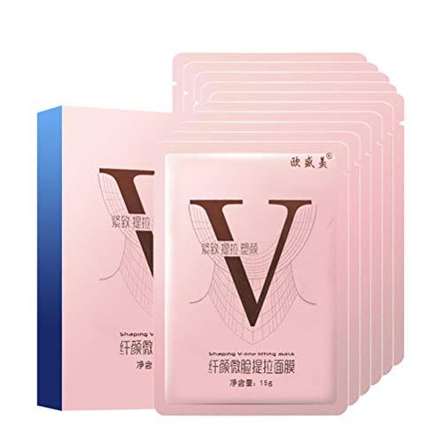 SUPVOX Menton Masque Patch Face Lift Double Menton Réducteur De Levage Marque Pour Femmes Dames (1 Boîte / 10pcs)