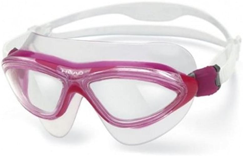 Head Jaguar LSR+ Swim Goggle - Clear Lens - rose Great for Swimmers by HEAD