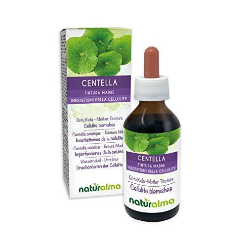 CENTELLA ASIÁTICA (Centella asiatica) hierba Tintura Madre sin alcohol NATURALMA | Extracto líquido gotas 100 ml | Complemento alimenticio | Vegano
