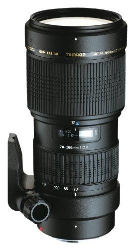 Tamron A001NII - Objetivo para Nikon (70-200 mm, f/2.8, 2.8X, Macro, 77 mm), Color Negro