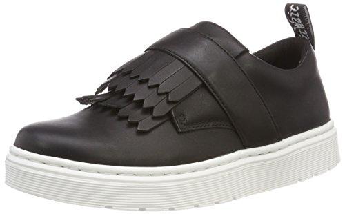 Dr. Martens Eudora, Sneaker Infilare Donna, Nero (Black 001), 38 EU