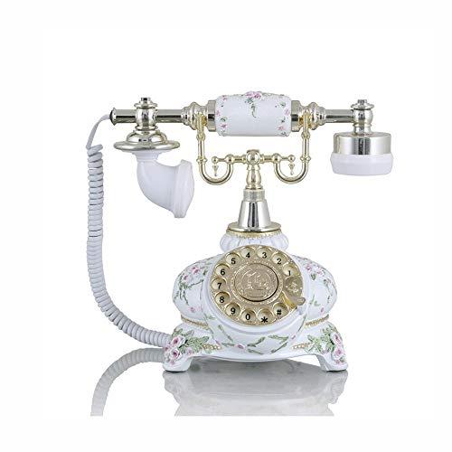 Metalldrehknopf Europäisches Antikes Telefon Retro Festnetz Mechanisches Klingeln Festnetz