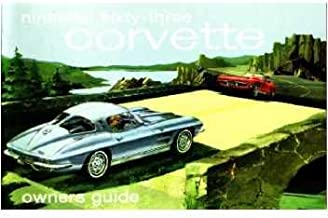 1965 Corvette Sting Ray Owners Manual with Envelope 65 Chevy Owner Guide Book