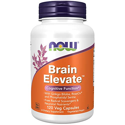 Now Foods Brain Elevate - 120 Vcaps - 120 Cápsulas