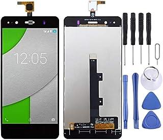 Reparationssats för mobiltelefoner LCD-skärm och digitaliserare full montering för BQ Aquaris A4.5 (svart) reservdel (färg...