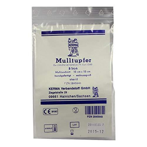 MULLTUPFER pflaumengro/ß steril 50 St Tupfer