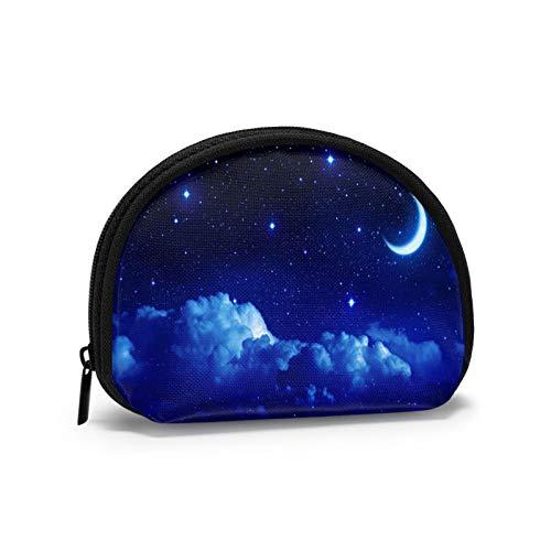 Stellar and Nebulae - Monedero portátil para mujer, con cremallera, bolsa de almacenamiento
