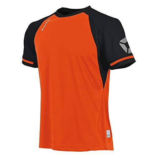 Stanno Liga Trikot K.A. - shocking orange-black, Größe Stanno:XXL