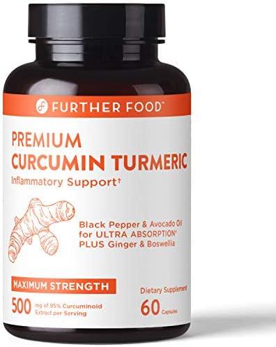 Premium Curcumin Turmeric Anti Inflammatory Capsule 30x More Powerful Than Ordinary Turmeric product image