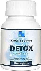 ✅ MAXIMISE LES RÉSULTATS : Récipient de 120 comprimés à haute dosage pour les hommes et les femmes. Detox Platinum KutraLab est utilisé comme antitoxique, grâce à la capacité d'absorber et de retenir la plupart des poisons en formant un complexe qui ...