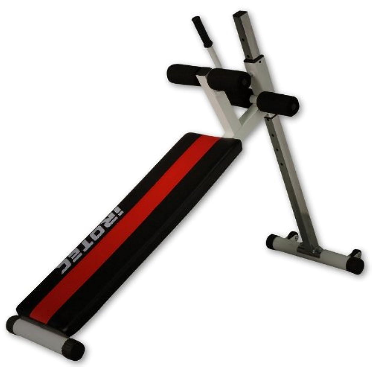 ステートメントカバレッジバンIROTEC (アイロテック) パワークランチベンチ/腹筋 腹筋マシン 腹筋トレーニング器具 筋トレ ダイエット器具