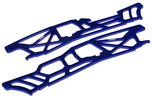 Integy RC Model Hop-ups T6983BLUE 4mm Chassis Plates for HPI Savage XL