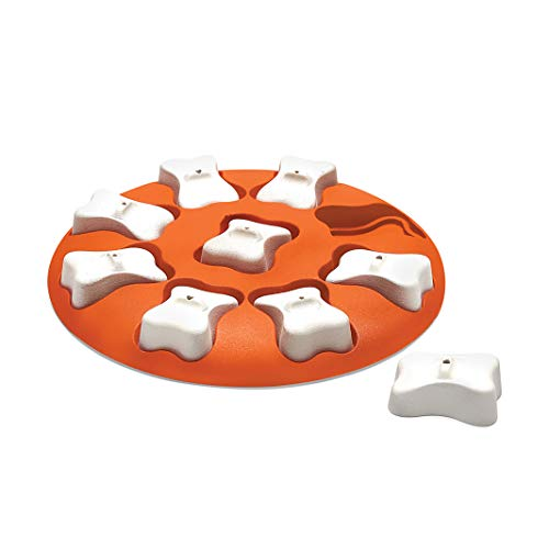 Nina Ottosson by Outward Hound Dog Smart Orange Interactive Treat Puzzle Dog Toy