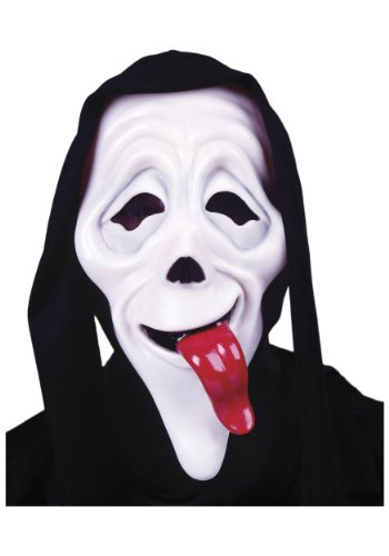 Easter Unlimted Scary Movie Ghostface Original Zungen Maske Crazy