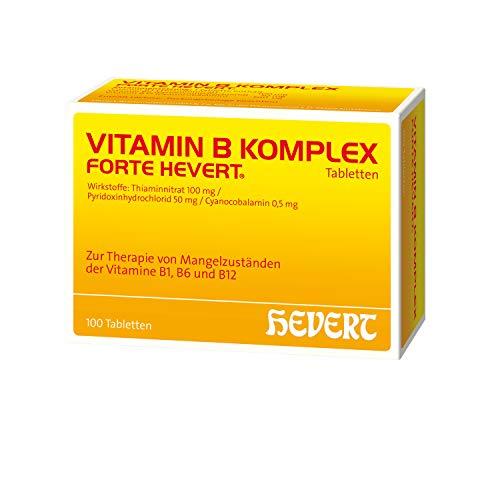 Vitamin B Komplex forte Hevert Tabletten, 100 St. Tabletten