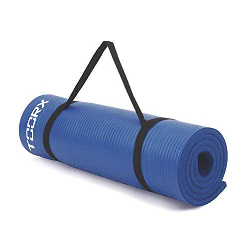Toorx MAT-172, Materassino Fitness Unisex Adulto, Blu, 63,5x55x33
