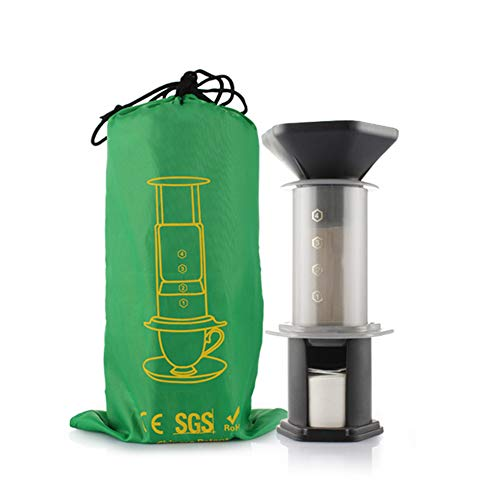 Big Save! Portable Espresso Coffee Maker, French Press Barista Tools, Mini Coffee Pot Air Press Drip...